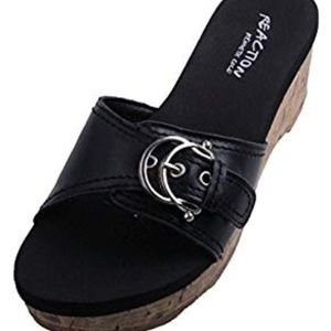 Kenneth Cole 'Insider 2 LE' Leather Sandals
